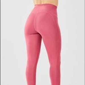 Fabletics High-Waisted Solid PowerHold 7/8 NWOT